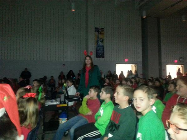 Annual East Holiday Sing-Along Held