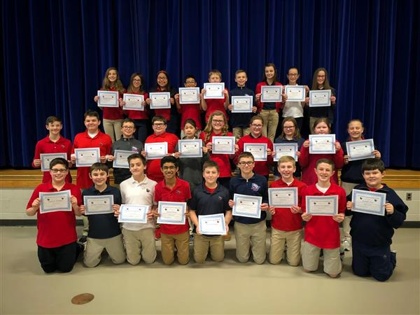 2nd Marking Period Honor Roll