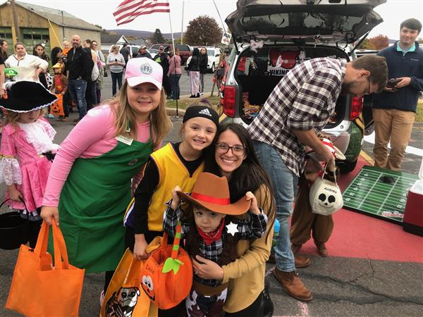 Happy Halloween from East and the First Ever Trunk or Treat & Bonfire Celebration!