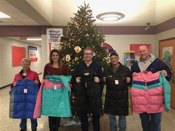 Parker Hill Church Donates Coats to Students and Treats to Staff