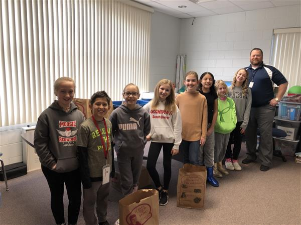 Congratulations to Mr. Walsh, our staff and student body for collecting over 2,500 food items for our recent food drive. This venture was spearheaded by Mr. Walsh who has been a long-time advocate for assisting with local food pantries.