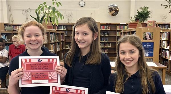 Congratulations to the 6th graders who placed or won in the NEIU 19's annual Regional Media and Design Competition!