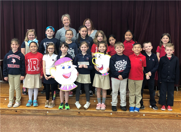 "The students at Riverside Elementary West and East participated in the Autism Awareness/Acceptance 2019. The donation to PLCTA will help children with autism.  This years theme was ""Pour Yourself Out in Kindness"""