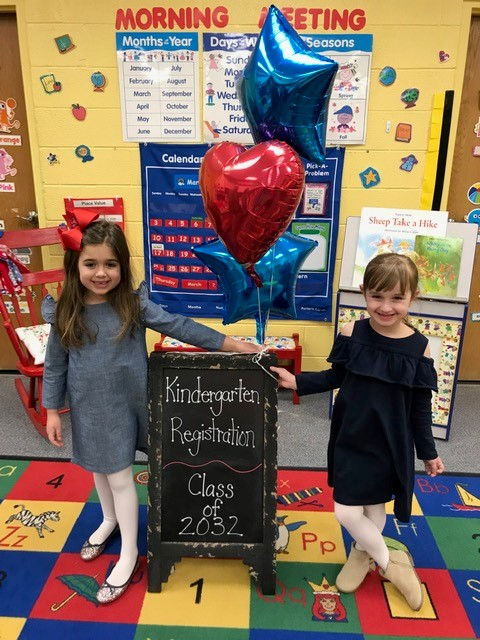 Class of 2032 registers for Kindergarten!