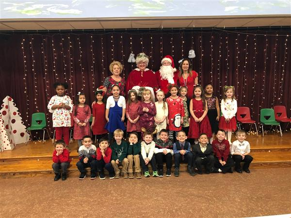 Mrs. Chickeletti's class performs Holiday Program!