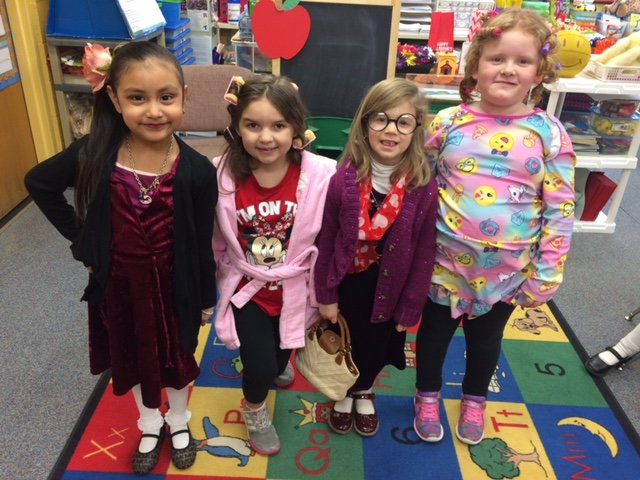 100 YEAR OLDS FOR THE 100TH DAY OF SCHOOL