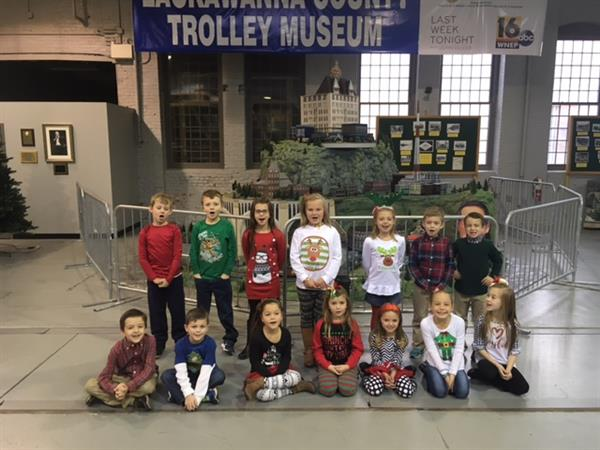 Lackawanna County Trolley Museum Trim A Tree Challenge