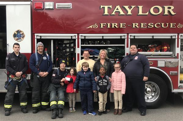 Fire Prevention Week Taylor Fire and Rescue