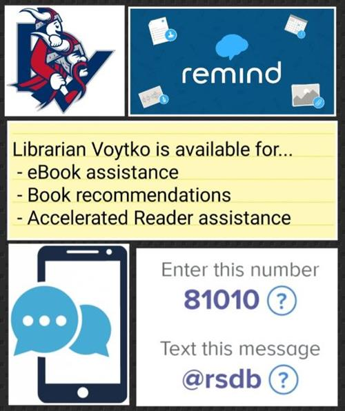 Library Remind Text