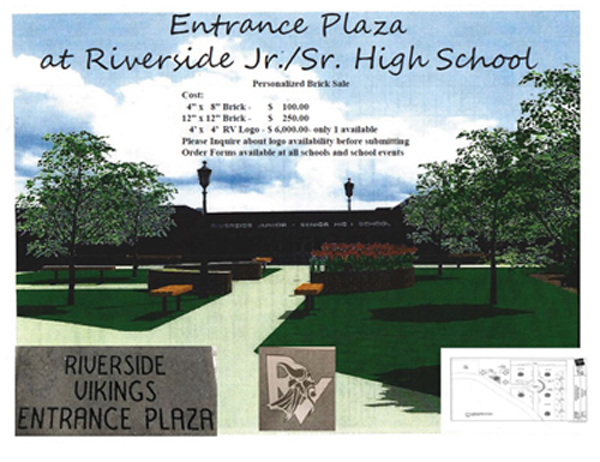 Riverside Brick Sale Fundraiser - Please click here for more information.